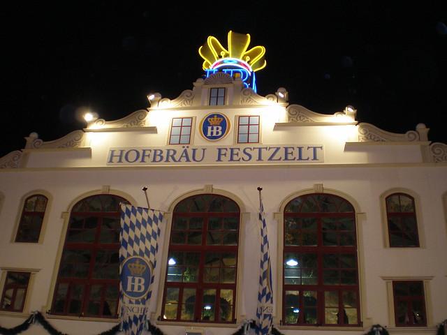 Hofbrau tent Oktoberfest 2008