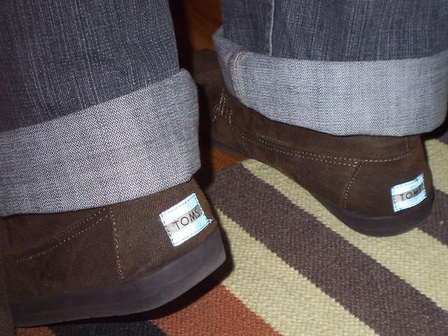 ian's brown botas