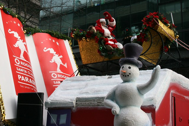 Santa at Rogers Santa Claus Parade