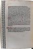 Manuscript rubrication and variant in Gerson, Johannes: Conclusiones de diversis materiis moralibus, sive De regulis mandatorum