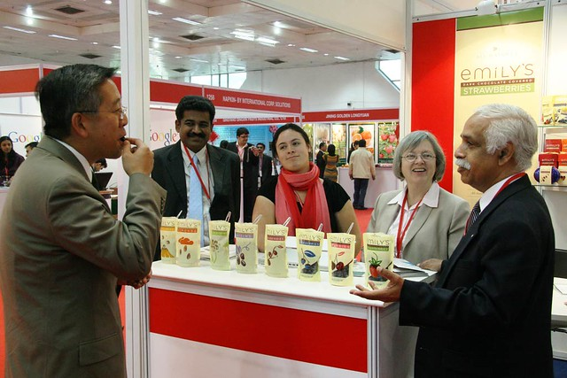 DCM Lu visits Int'l Food and Drink Expo   Flickr - Photo Sharing!