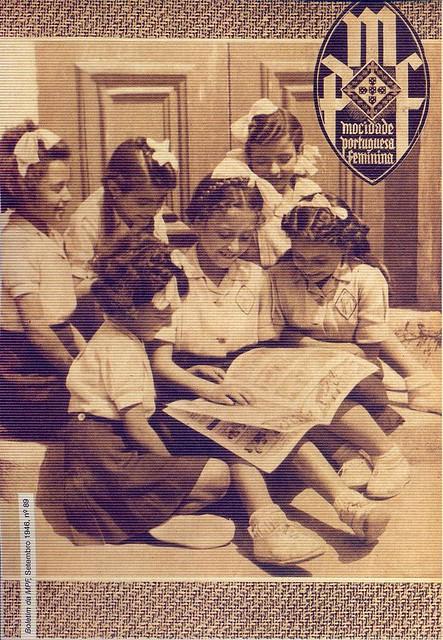 Mocidade Portuguesa Feminina, Nº 89, Setembro 1946 - capa