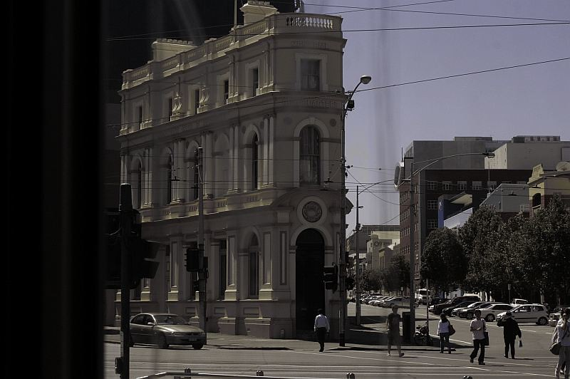A Street Corner in Melbourne