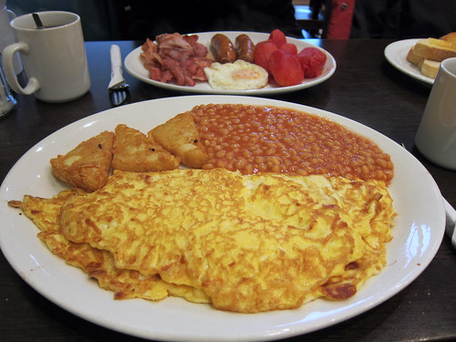 Omelette and Fry Up