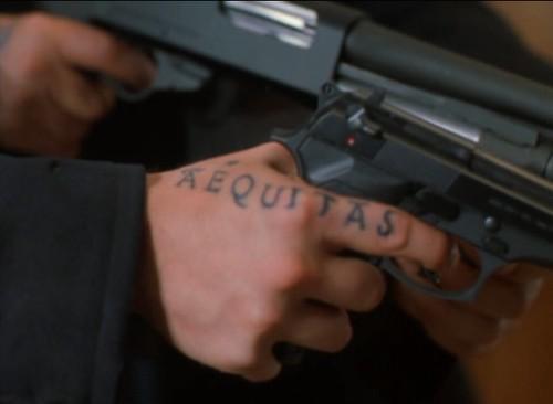Veritas tattoo tattoo lawas for Boondock saints veritas aequitas tattoos