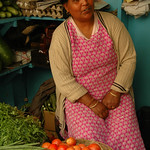 Market Vendor in Darjeeling, India