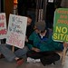 Sit Lie protest & free food at Macy's