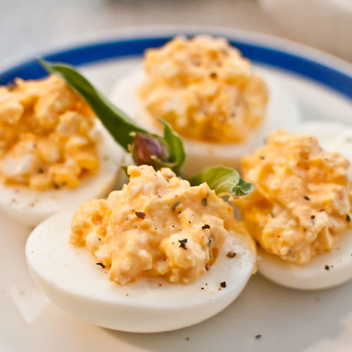 Deviled Eggs made Healthy
