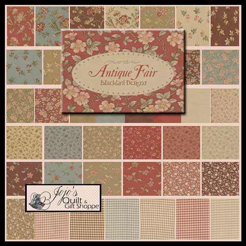 Antique Fair Charm Pack By Blackbird Designs For Moda Fabr Flickr Photo Sharing