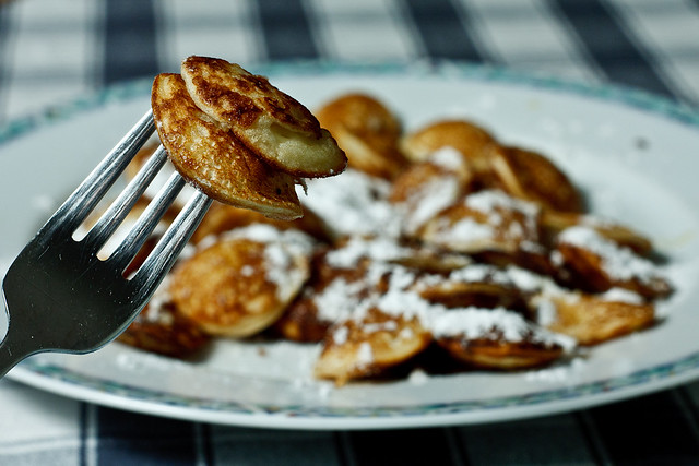#2/365 - Delicious Dutch pancakes ('poffertjes')