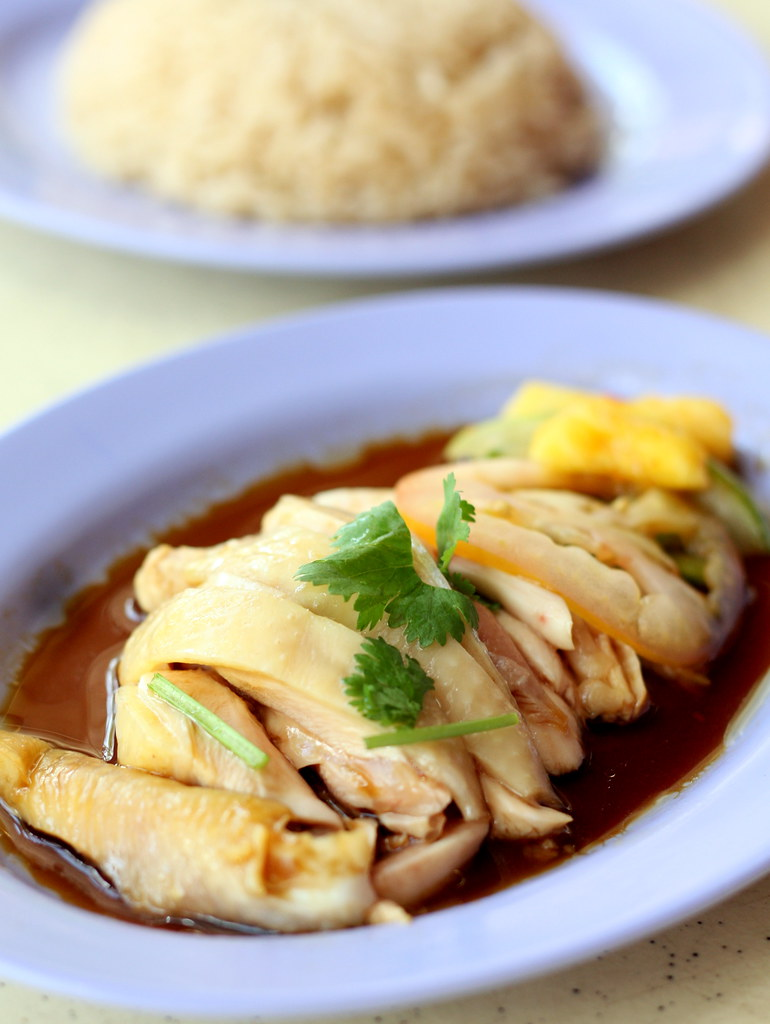 Food Must Try In Singapore: Chicken Rice