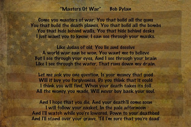 Masters of War Flickr Photo Sharing