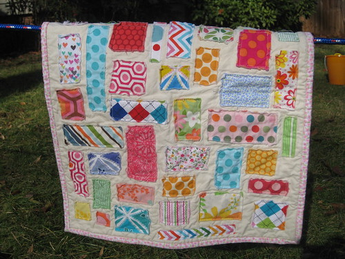 Ticker Tape Doll Quilt