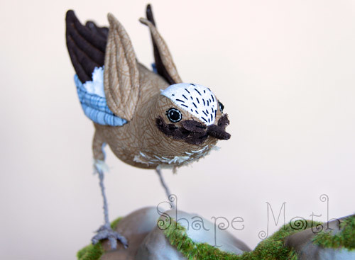 Soft sculpture bird 1