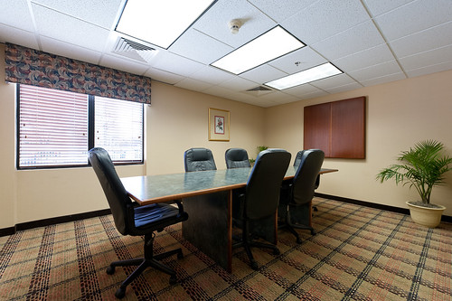 Board room, perfect for small meetings and presentations