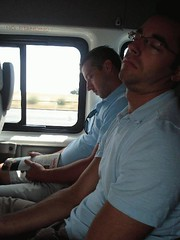 Jason and Alan sleeping