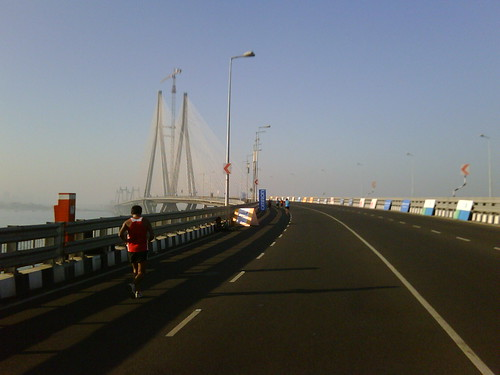Mumbai Marathon: to the Sea Link