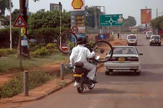 Boda Boda, Bike and Two Guys