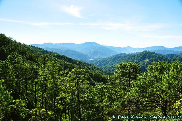 View from Halsema Highway, Benguet