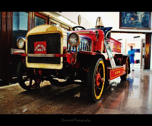 Vintage Fire Station