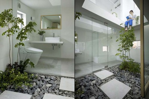 Rent to blog garden inside a small japanese house for Japanese garden inside house