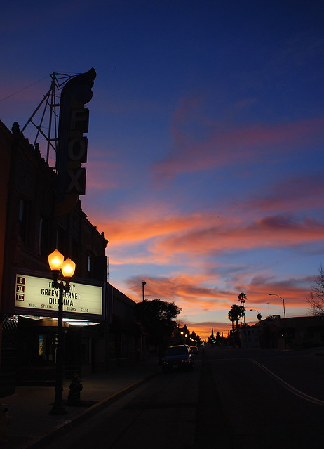 fox theater at sunset banning ca flickr photo sharing