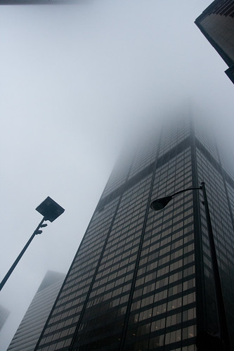 Too Foggy to go to the Top of the Sears Tower