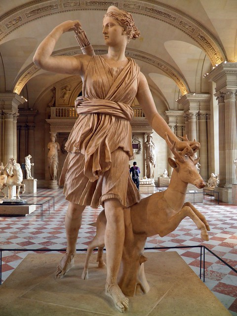 Diana of Versailles, Louvre Museum