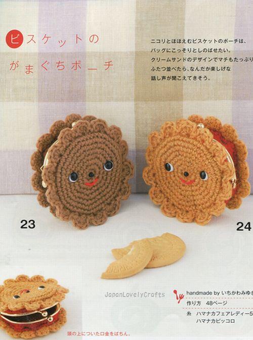 Lovely Amigurumi Sweets Cakes Dessert Japanese Handmade Crochet