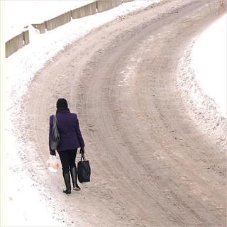 Snowy return