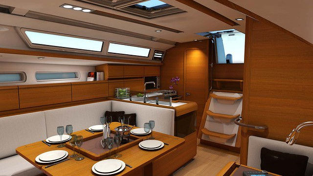 The latest model in Jeanneau's Sun Odyssey line, the 409 was a nominee for ...