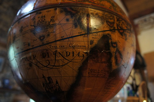 Antique Globe by James Saunders