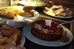 hors d'oeuvre(0.0), dinner(0.0), breakfast(0.0), restaurant(0.0), full breakfast(0.0), meal(1.0), lunch(1.0), supper(1.0), brunch(1.0), food(1.0), dish(1.0), cuisine(1.0),