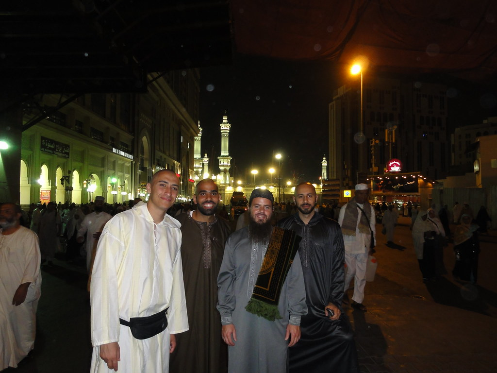 With some really nice dawah brothers in Makkah