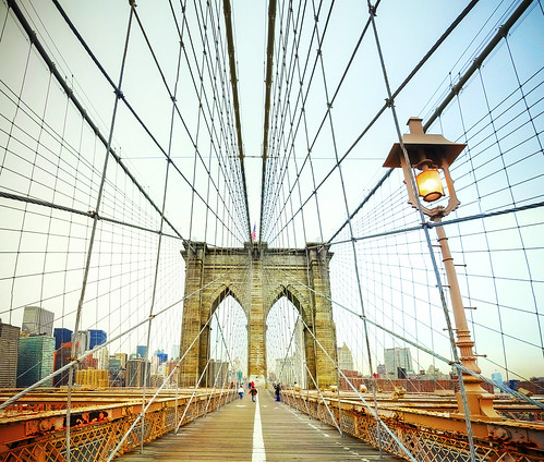 Brooklyn Bridge, New York by Tomasito.!