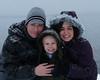 Family by Ocean in Alaska