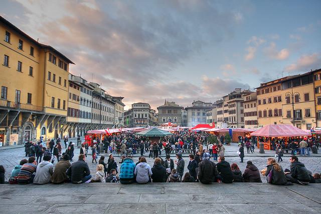 Weihnachtsmarkt in Florence