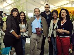 Feria de artesania 2010 con personal CADE