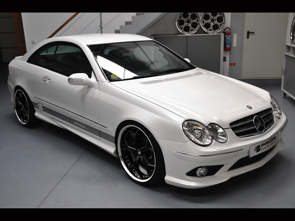 Mercedes clk w209 full body kit clk55 clk500 clk350 amg ebay for Mercedes benz clk body kit