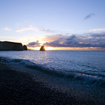 Sunrise at Freshwater Bay