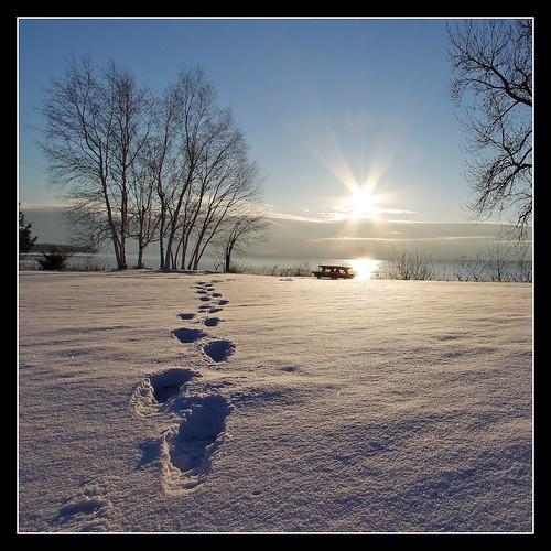 sun snow vermont outdoor footprints birch vt northhero borderfx lakechampleain