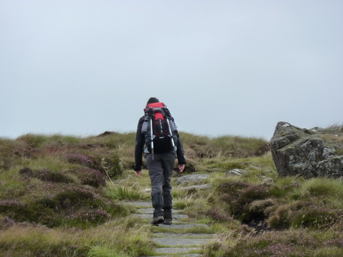 Walking along the Pennine Way