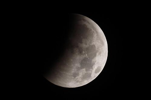 Moon enters umbra: 1:55 AM EST - Winter Solstice Total Lunar Eclipse