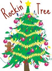 Rockin' christmas tree