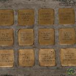 Stumbling Blocks to Commemorate World War II Victims - Vienna, Austria