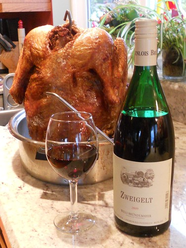 Thanksgiving dinnner wine