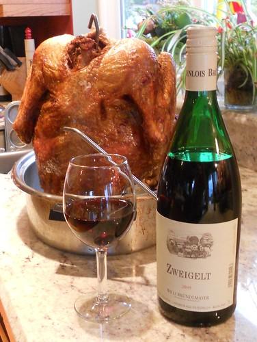 Thanksgiving dinnner wine