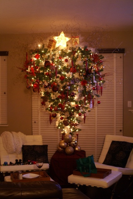 Upside Down Christmas Tree Flickr Photo Sharing