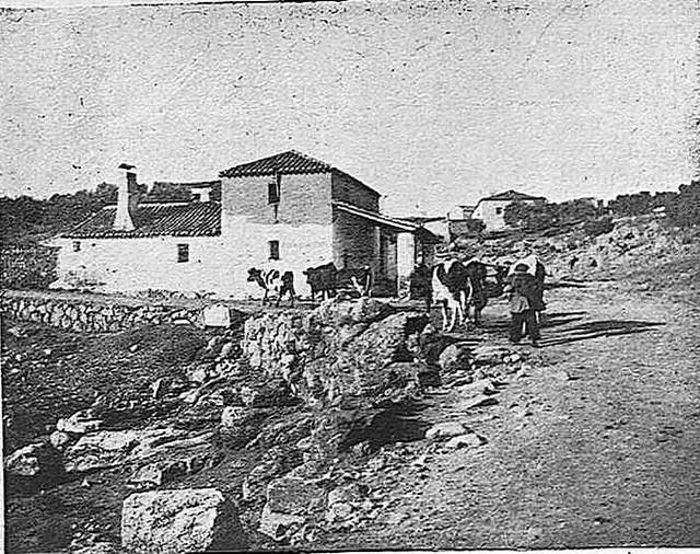 Cigarral de Caravantes hacia 1929. Fotografía de Pedro Román Martínez publicada en agosto de ese año en la Revista Toledo