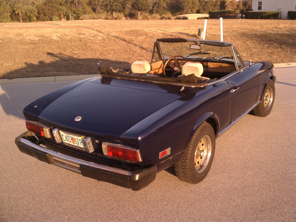 1975 fiat 124 sport spider images pictures and videos - 1975 fiat 124 sport coupe ...